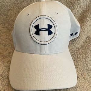 Under Armour White Golf Hat / Spieth